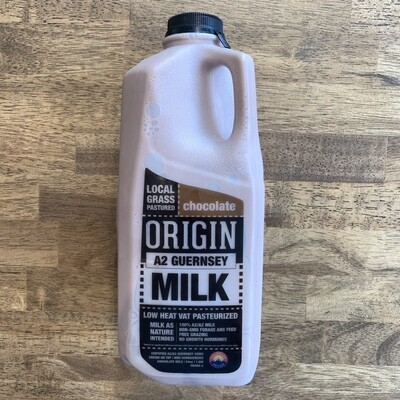 Origin Guernsey A2 Chocolate Milk