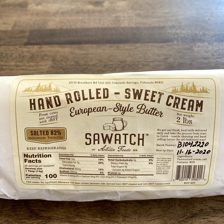 Sawatch Artisan Butter (salted)