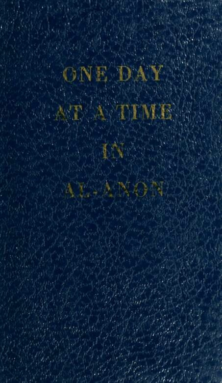 One day at a time in Al-Anon Ebooks