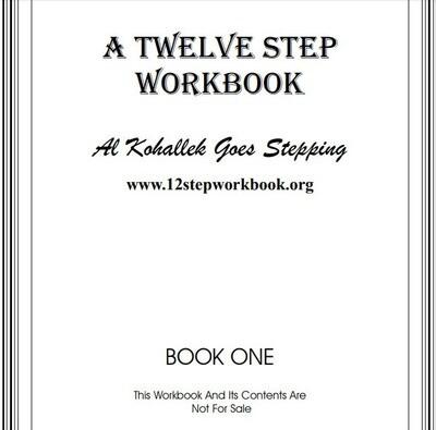 A Twelve Step Workbook (Free)