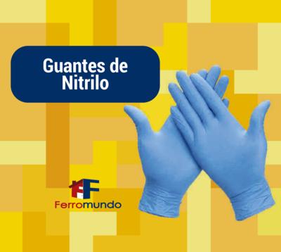 Guantes de nitrilo. Pack 12 pares