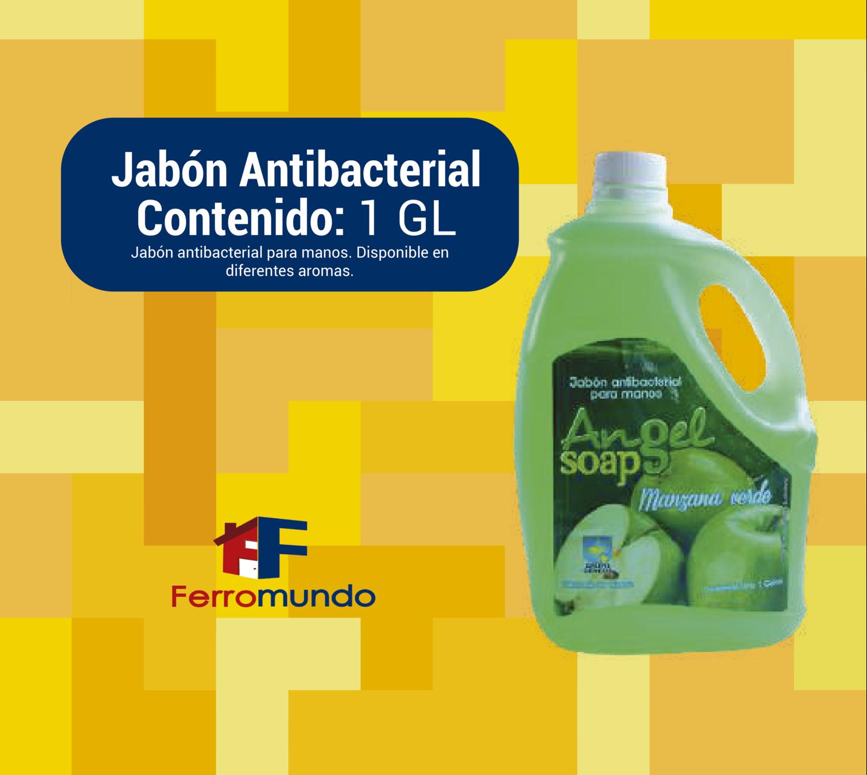 Jabón liquido antibacterial galón