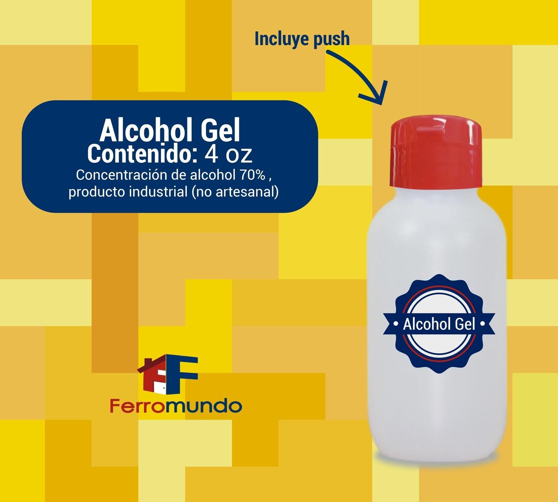 Alcohol gel 4 onzas