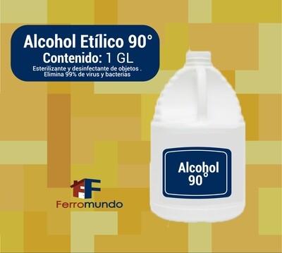 Alcohol etílico 90° - 1 Galón