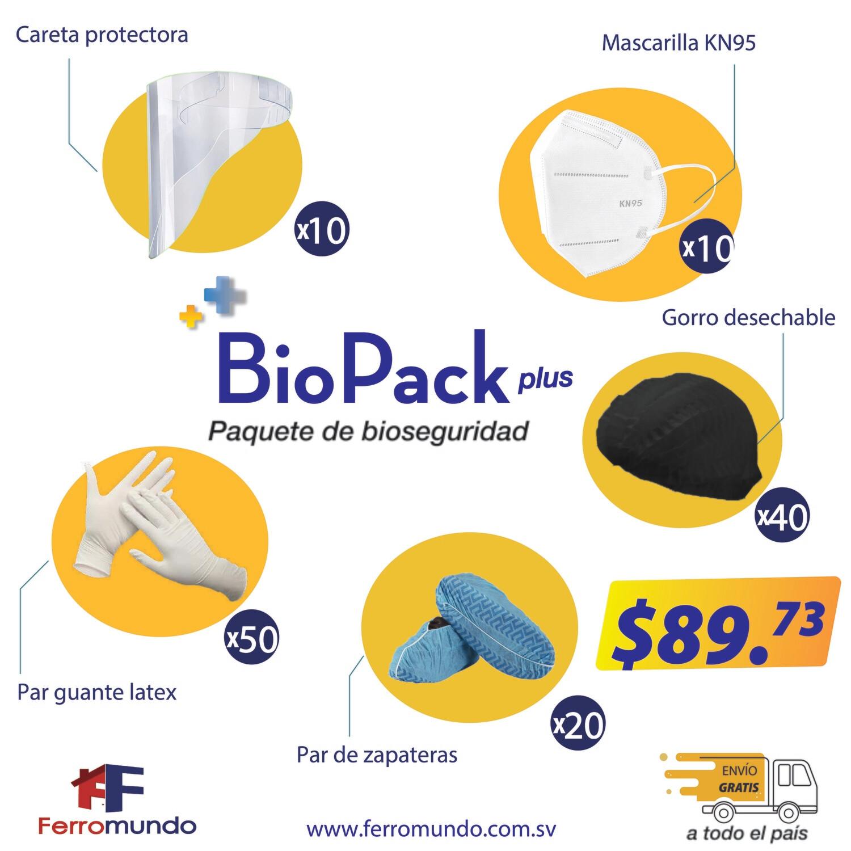 BioPack Plus - pack de bioseguridad