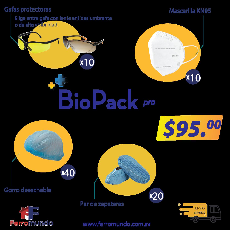 BioPack Pro - pack de bioseguridad