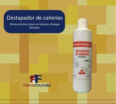 Destapador de cañerias soda caustica 500 ml.