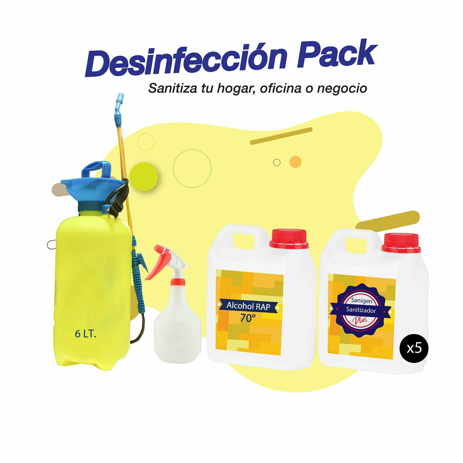 Desinfección Pack Plus