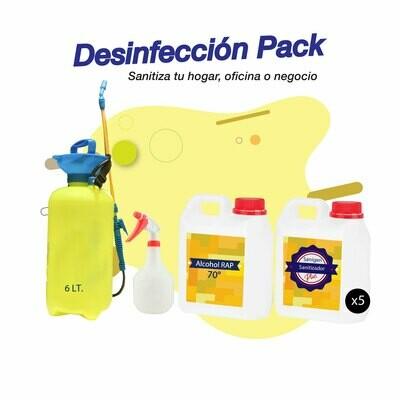 Desinfección Pack Plus