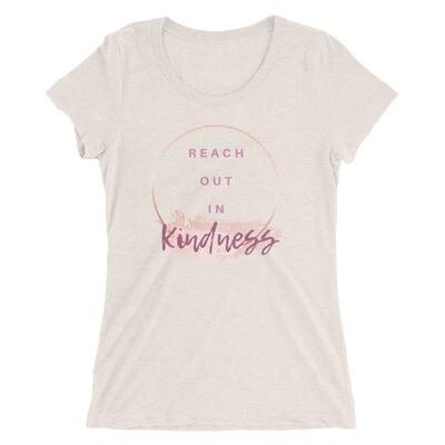 Ladies' Short Sleeve T-Shirt - Kindness
