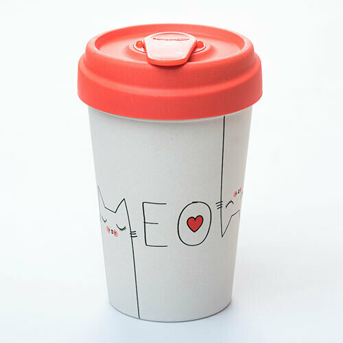 """BAMBOO CUP """"MEOW"""""""