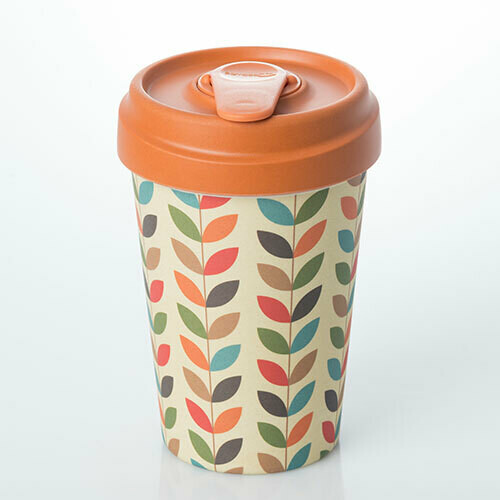 """BAMBOO CUP """"BRIGHT LEAVES"""""""