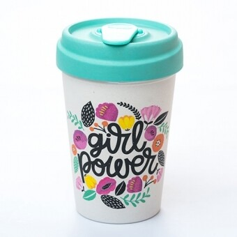 "BAMBOO CUP ""GIRL POWER"""