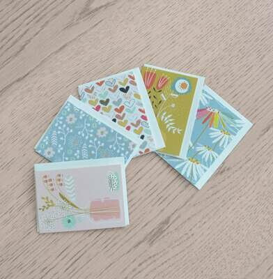 PACK DE 5 MINI CARTES