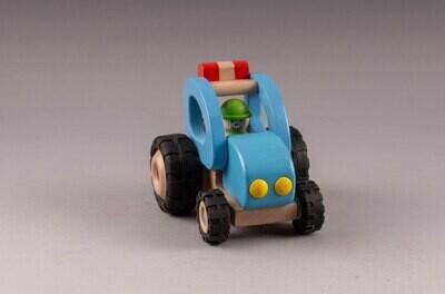 GOKI Traktor blau