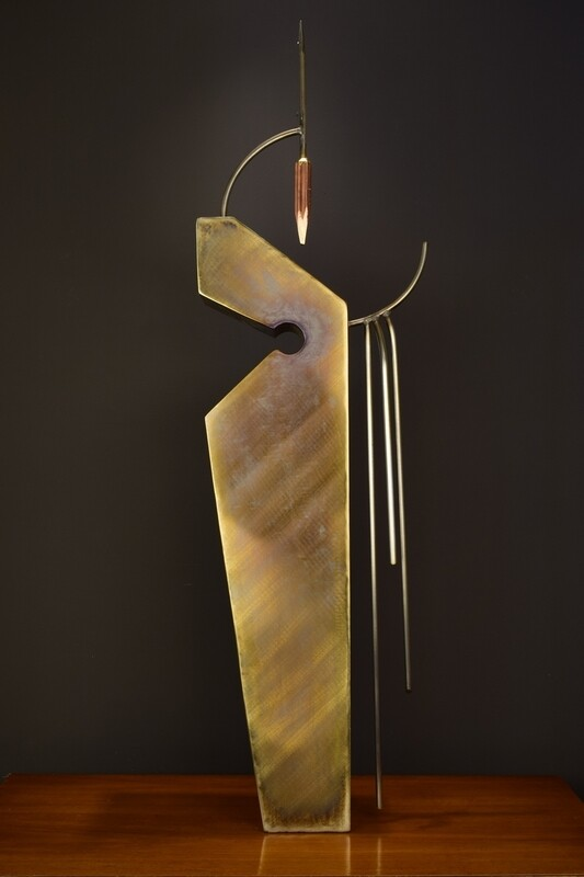 'Yaqui' Stainless Steel Metal Sculpture