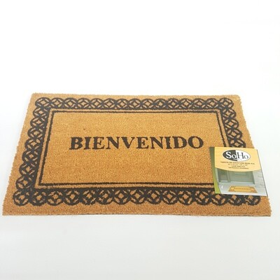 ALFOMBRA DE ENTRADA MATS-COCO-BIEN/45X75