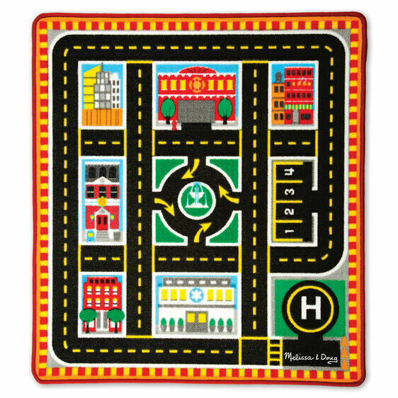 9406-ME ROUND THE CITY RESCUE RUG