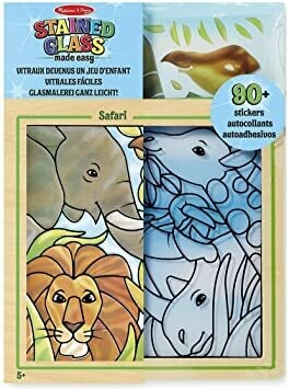 9436-ME STAINED GLASS - SAFARI