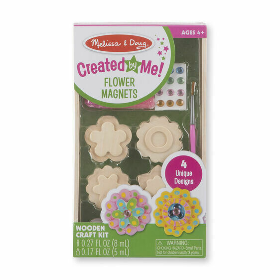 9582-ME Arts & Crafts - Flower Magnets