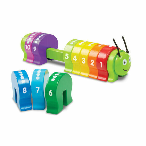 9274-ME Counting Caterpillar