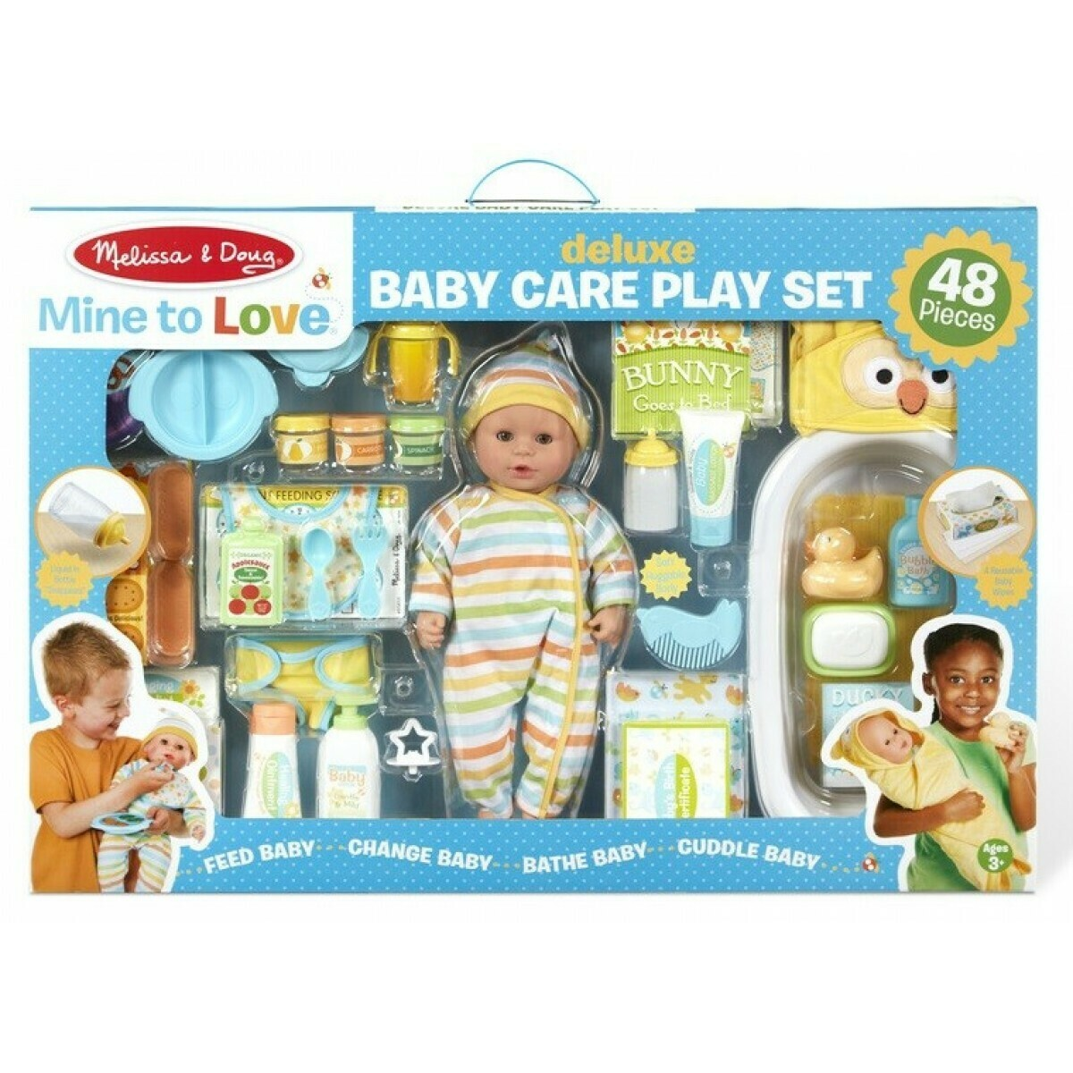 93835-ME Mine to love - Deluxe Baby Care Play Set