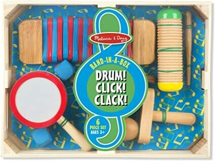 8962-ME Band-in-a-Box Drum! Click! Clack!