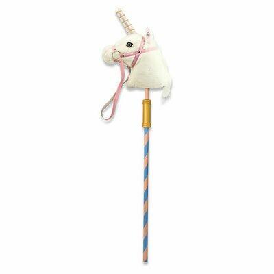 2181-ME Prance-n-play Stick unicorn