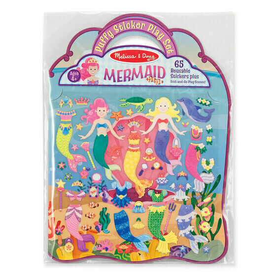 9413-ME Puffy Stickers - Mermaid