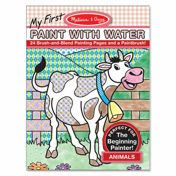 9338-ME My First Paint with Water - Animals