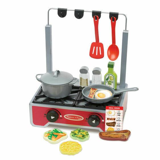 9288-ME Deluxe Wooden Cooktop Set