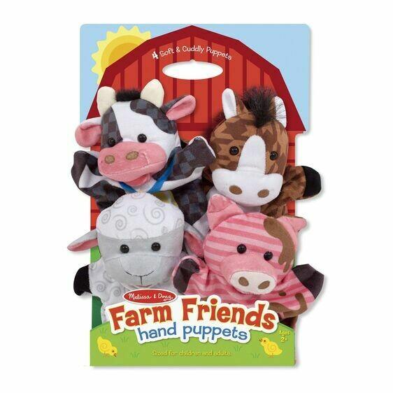 9080-ME Puppets - Farm Friends Animal