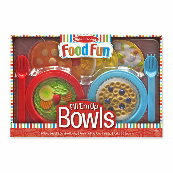 9541-ME Create-A-Meal Fill 'Em Up Bowls