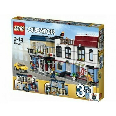 LEGO CREATOR BIKE SHOP & CAFE 1023 PC