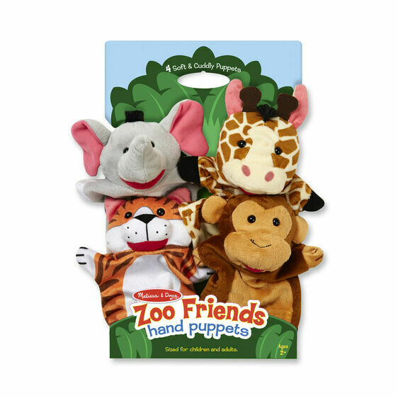 9081-ME Puppets - Zoo Friends
