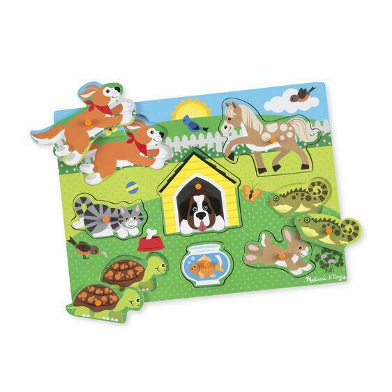 9053-ME Pets Peg Puzzle