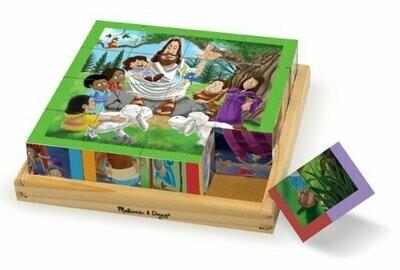 9256-ME New Testament Cube Puzzle