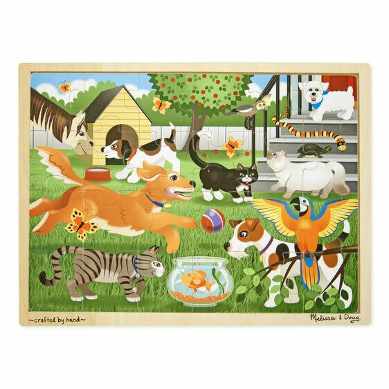 9059-ME Pets Jigsaw Puzzle (24pcs)