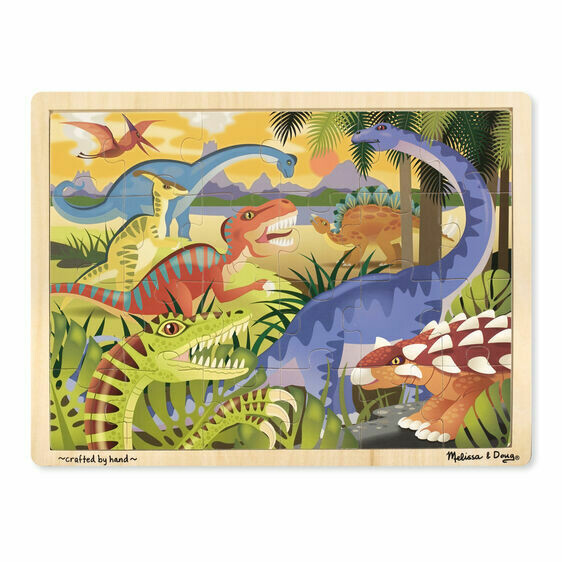9066-ME Dinosaur Jigsaw Puzzle (24pcs)