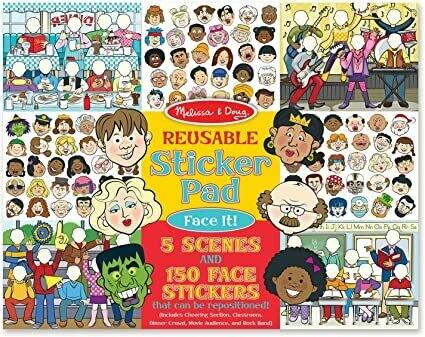 9103-ME Reusable Sticker Pad -Face It!