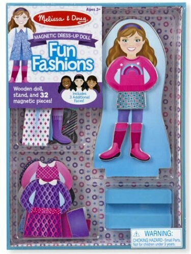 9467-ME Magnetic Dress-Up - Fun Fashions