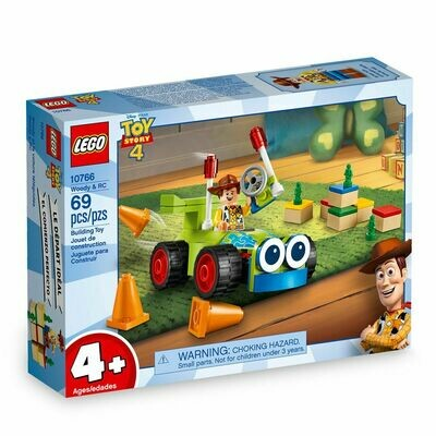 LEGO JUNIORS WOODY Y RC