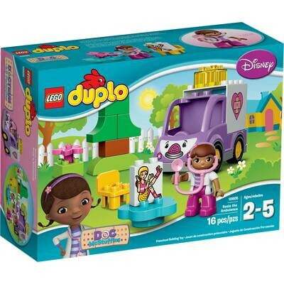 LEGO DUPLO DRA JUGUETES ROSIE THE AMBULANCE