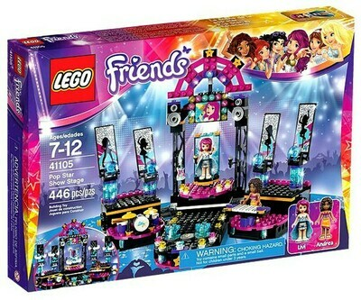 LEGO FRIENDS POPSTAR SHOW STAGE 446PZS