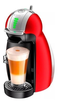 CAFETERA DOLCE GUSTO GENIO 2 METAL RED