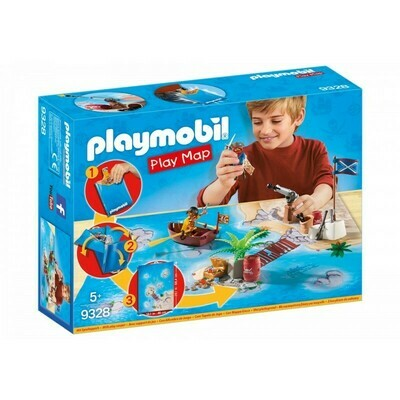 PLAY MAP PIRATAS PLAYMOBIL