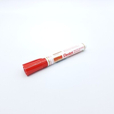 MARCADOR P/PIRAZZA RECARGABLE P.RED ROJO PENTEL