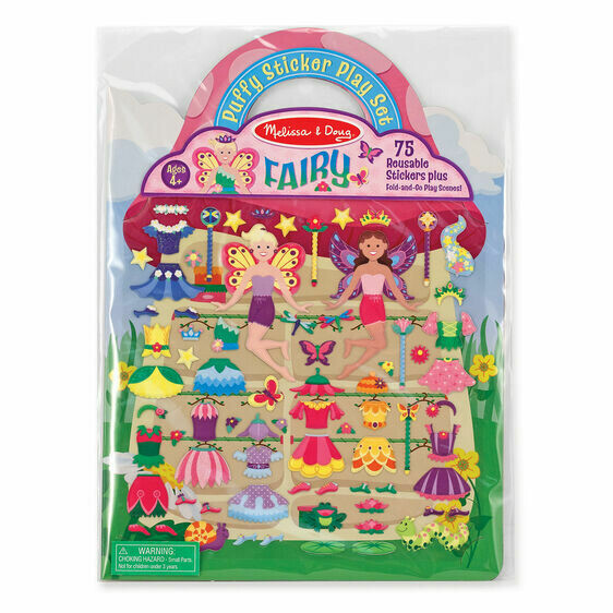 9414 PUFFY STICKERS - FAIRY