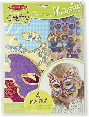 9481-ME SIMPLY CRAFTY - MARVELOUS MASKS