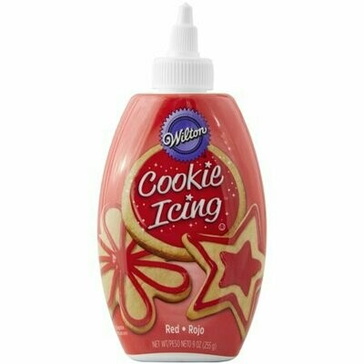 COOKIE ICING RED WILTON